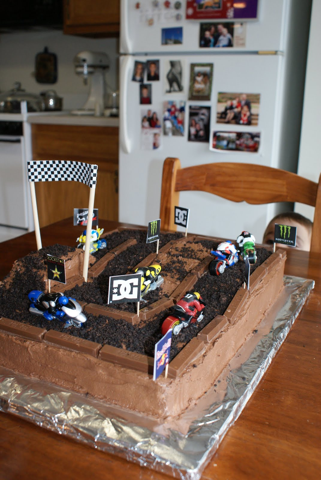 dirt bike cake - photo #29