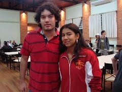 Com o GM argentino Sandro Mareco