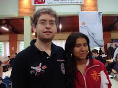 Com o GM Giovanni Vescovi