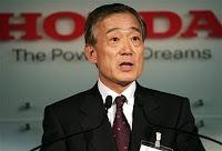 Honda CEO Takeo Fukui