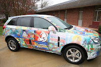 2008 Saturn Vue Greenline as Art Car