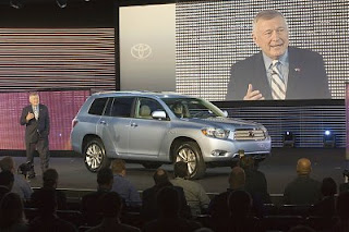 2008 Highlander Hybrid Unveiled