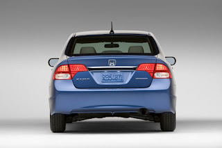 Rear Bumper 2009 Honda Civic Hybrid