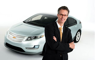 Chevy Volt along with Global Vehicle Line Executive Frank Weber