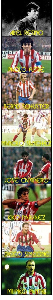 Históricos Atleti 1990-95