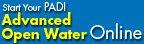PADI Advanced Open Water online eLearning