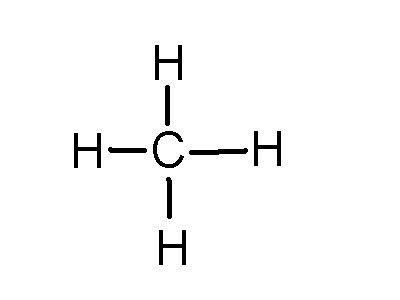 Methane Dot Structure