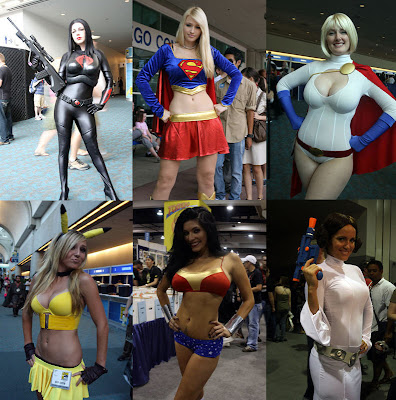 SDCC Cosplayers