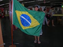 No aeroporto do Rio
