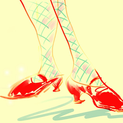 Dancing Shoes Cartoon