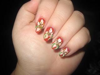 Nail Art Designs, Flower Nail Art Designs, Cute Nail Art