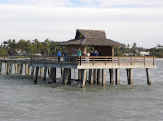 Friends and family on The Naples Pier