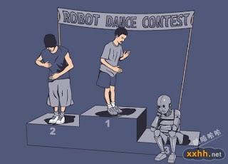 Robot Dance Contest Winner
