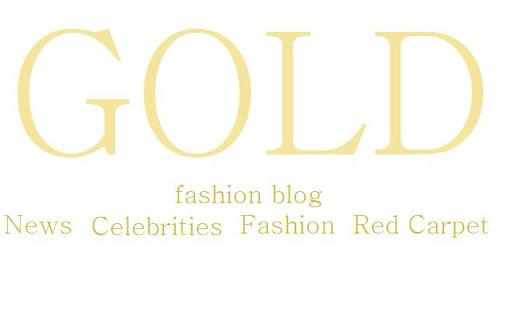 GOLD fashion blog