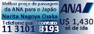 Passagem Japão ANA