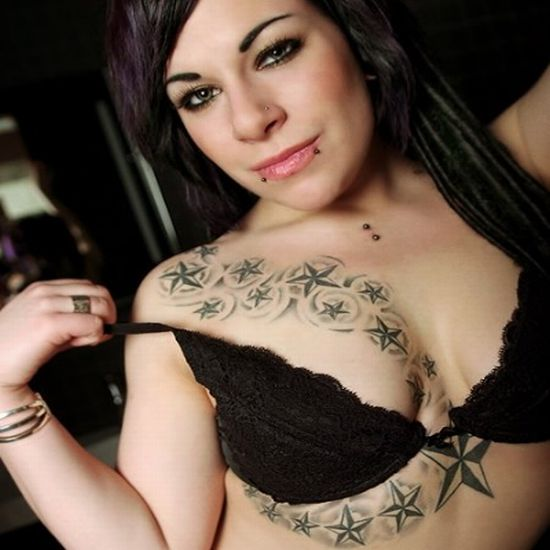 tattoo boobs