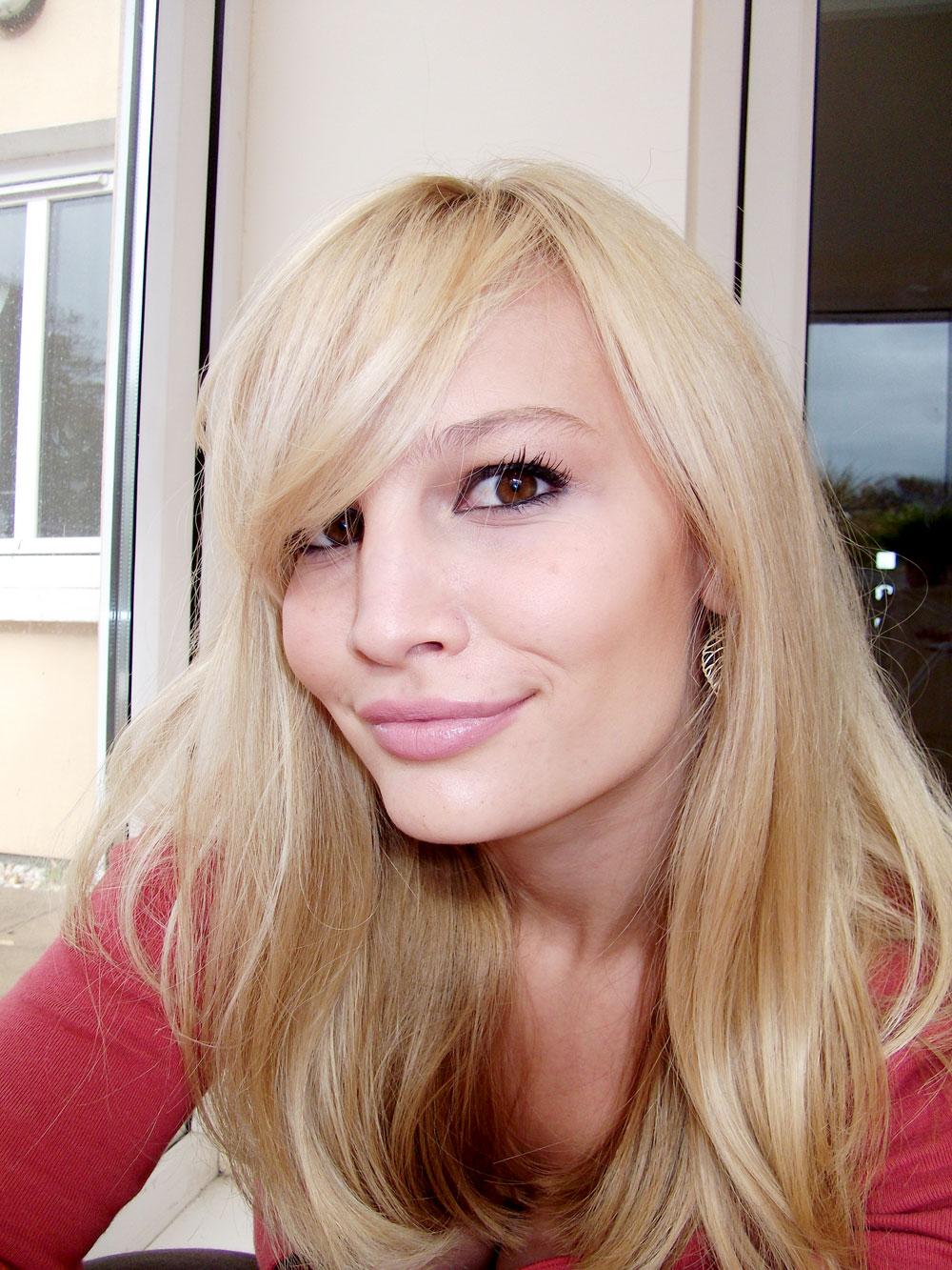 New Hair Anna Saccone Joly