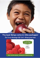 A Co-op Advantage Gift Card