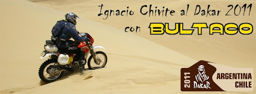 Chivite en el Dakar 2011