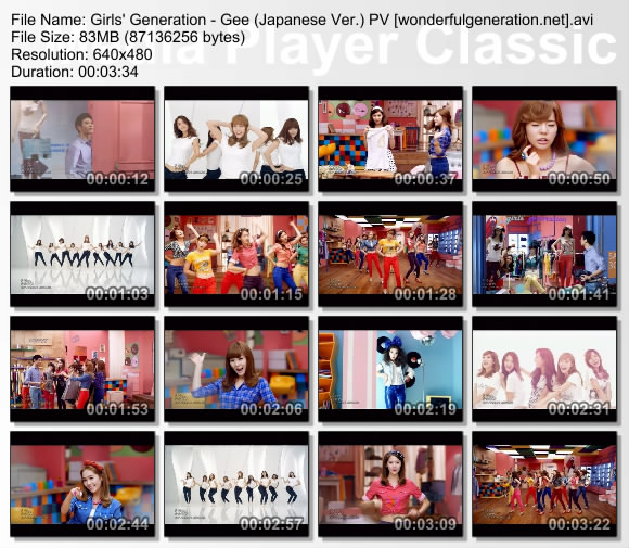 Girls Generation Gee Japanese. SNSD Gee Japanese PV Download