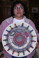 Navajo Hozho Basket by Peggy Black