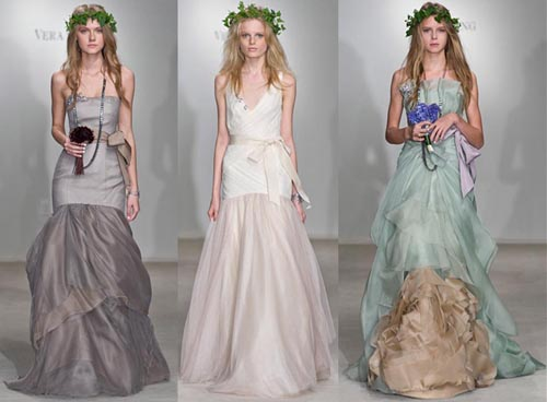 These Vera Wangs dresses literally make me drool fairy wedding dress