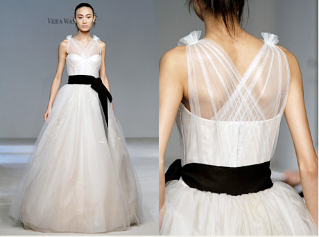 If I had had the money to buy a Vera Wang wedding dress for my recent