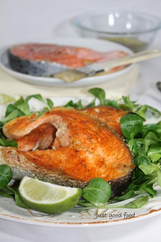 Kotleti lososa s roštilja