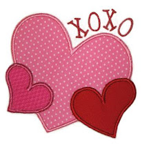 EB XoXo heart design