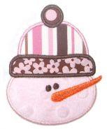 EB cute snowman face