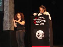 Lectura de El Quijote 2009