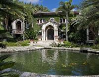 Gables Estates mansion in Coral Gables Florida, Alan Potamkin's house