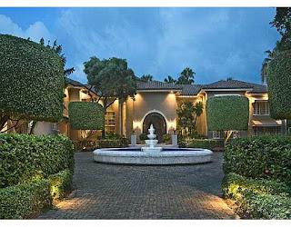 Shaquille O'Neal's house on Star Island Miami Beach Florida