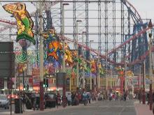 Blackpool in Lancashire