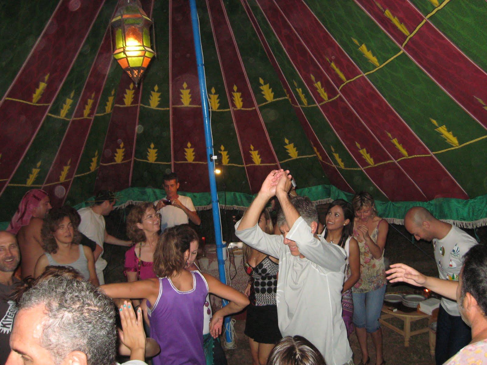 Fiesta en la Jaima zona Chill-Out