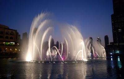أكبر و أغلى نافورة مياه في العالم-ابداعات البشر-منتهى