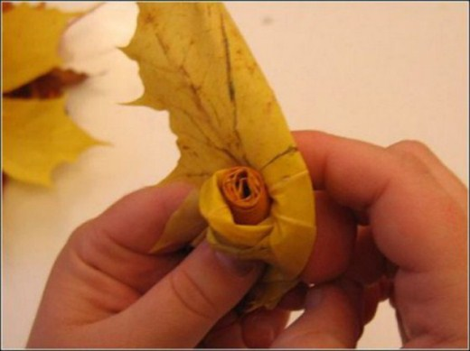 بوكيه من الورد مصنوع يدويا من ورق العنب-الفنون-منتهى