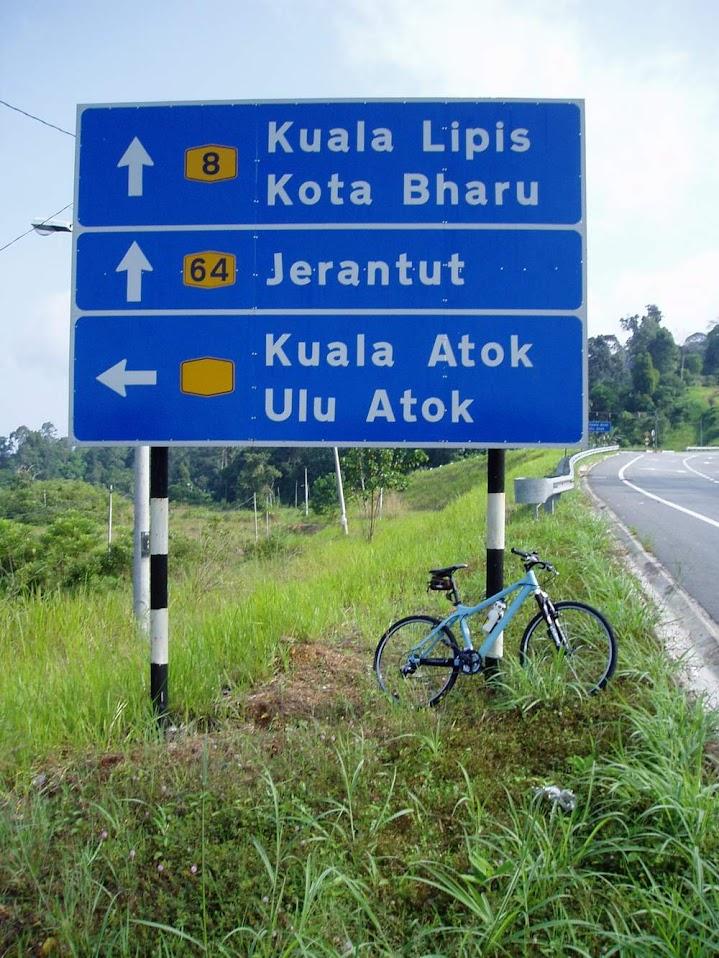 Simpang ke Kg. Kuala Atok