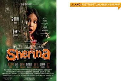 item: poster petualangan sherina - vcd version (60 x 80)
