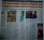Chile quiere reeditar abrazo de Charaña