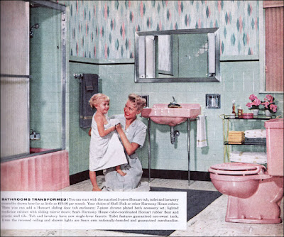 Color Marie In Praise Of 1950 39 S Bathrooms