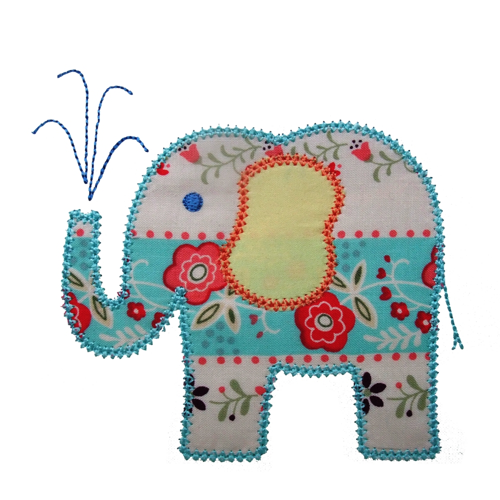 Big dreams embroidery elina elephant machine