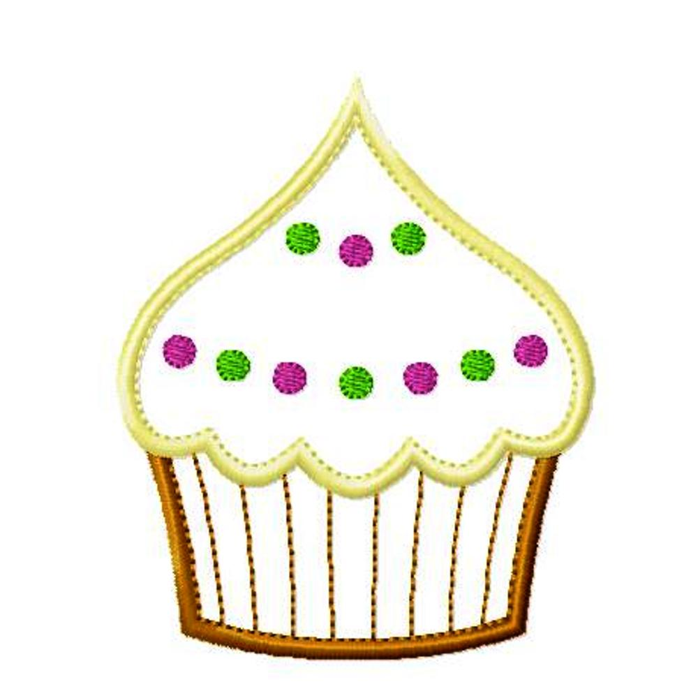 big dreams embroidery frosted cupcake machine embroidery applique design pattern. Black Bedroom Furniture Sets. Home Design Ideas