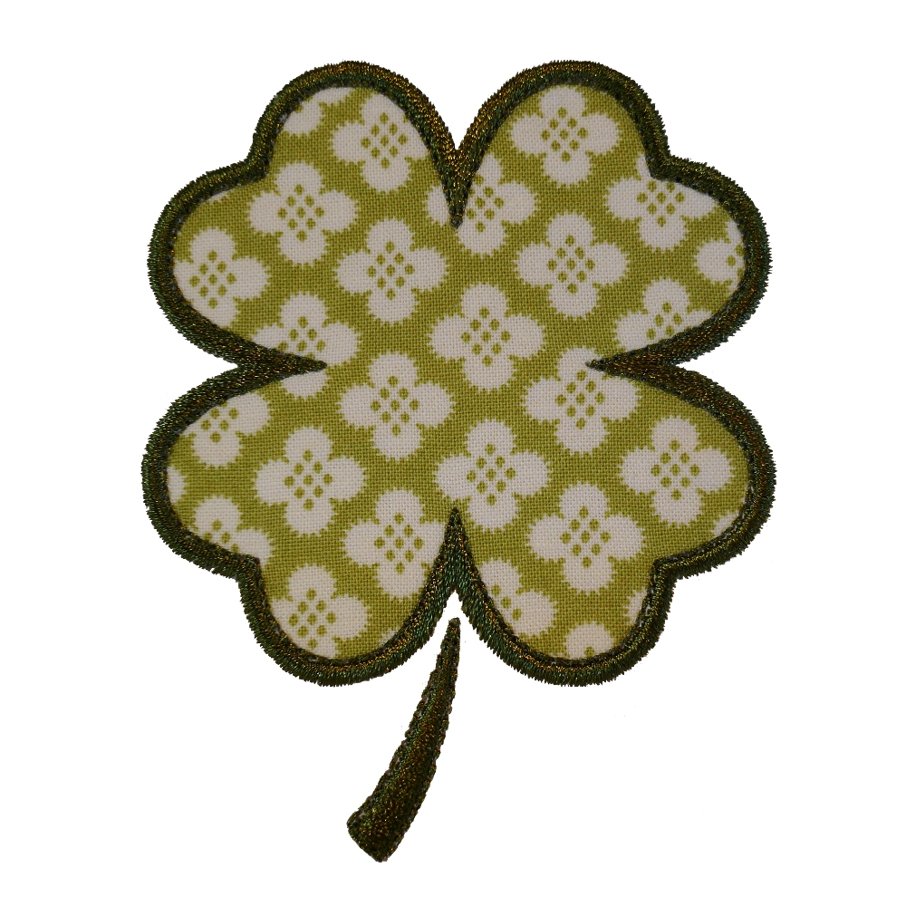 four leaf clover embroidery embroidery u0026 origami