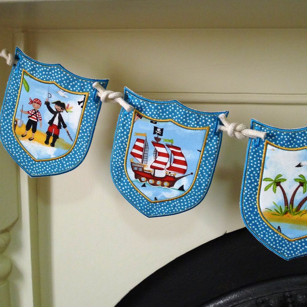 Big dreams embroidery ith in the hoop shield banner