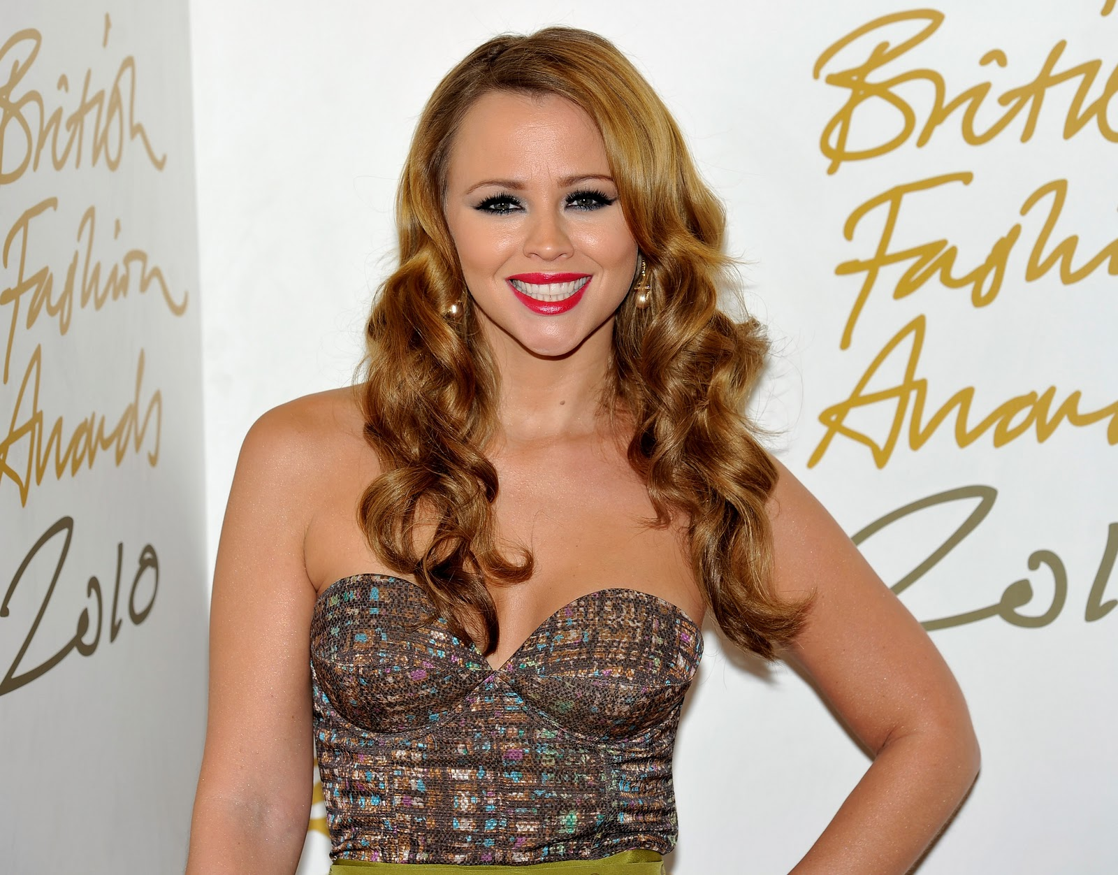 Kimberley walsh girls aloud at british fashion awards london 7th