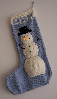 Christmas Stocking Knitting Pattern 2 Needles : Two-Needle Christmas Stocking Free Knitting Pattern from ...