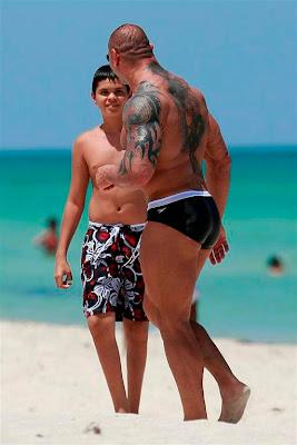WWE Tattoos - Batista Tattoos Design