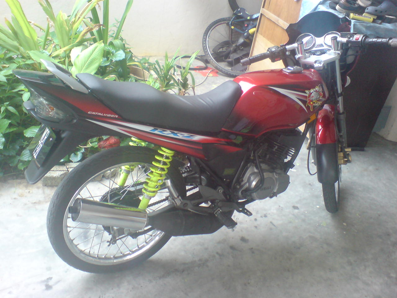 Yamaha Rxz Catalyzer Price