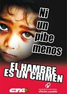 EL HAMBRE ES UN CRIMEN !!!